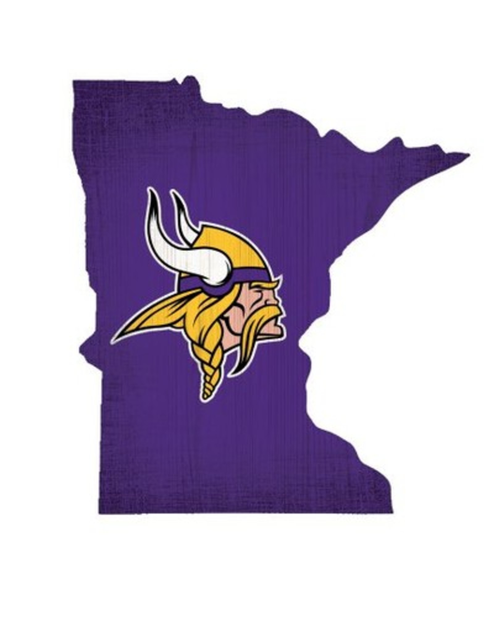 FAN CREATIONS Minnesota Vikings Team Logo State Sign