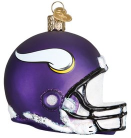 OLD WORLD CHRISTMAS Minnesota Vikings Helmet Ornament