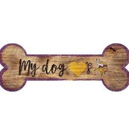 FAN CREATIONS Minnesota Vikings Dog Bone Wood Sign