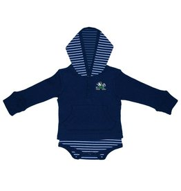 TWO FEET AHEAD Notre Dame Fighting Irish Striped Hooded Creeper