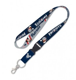 New England Patriots Disney Mickey Mouse Lanyard