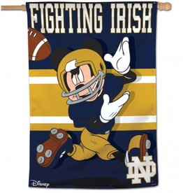 "WINCRAFT Notre Dame Fighting Irish Disney Mickey Mouse 28"" x 40"" House Flag"