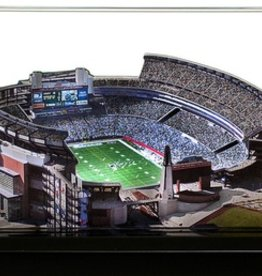 HOMEFIELDS New England Patriots 9in Lighted Replica Gillette Stadium