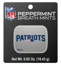 New England Patriots Breath Mints Tin