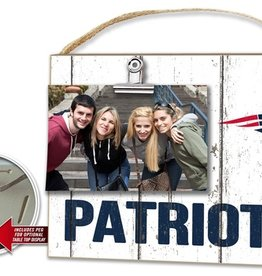 KINDRED HEARTS New England Patriots Clip It Photo Frame