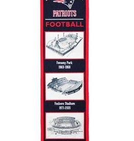 New England Patriots Stadium Heritage Banner