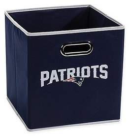 New England Patriots Storage Bin