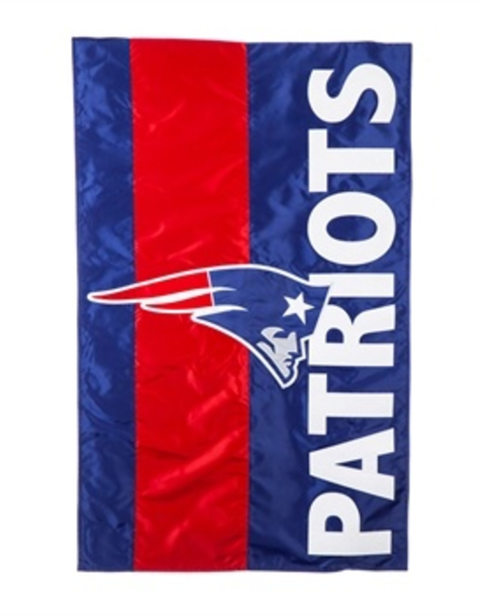 "EVERGREEN New England Patriots 28"" x 44"" Striped House Flag"