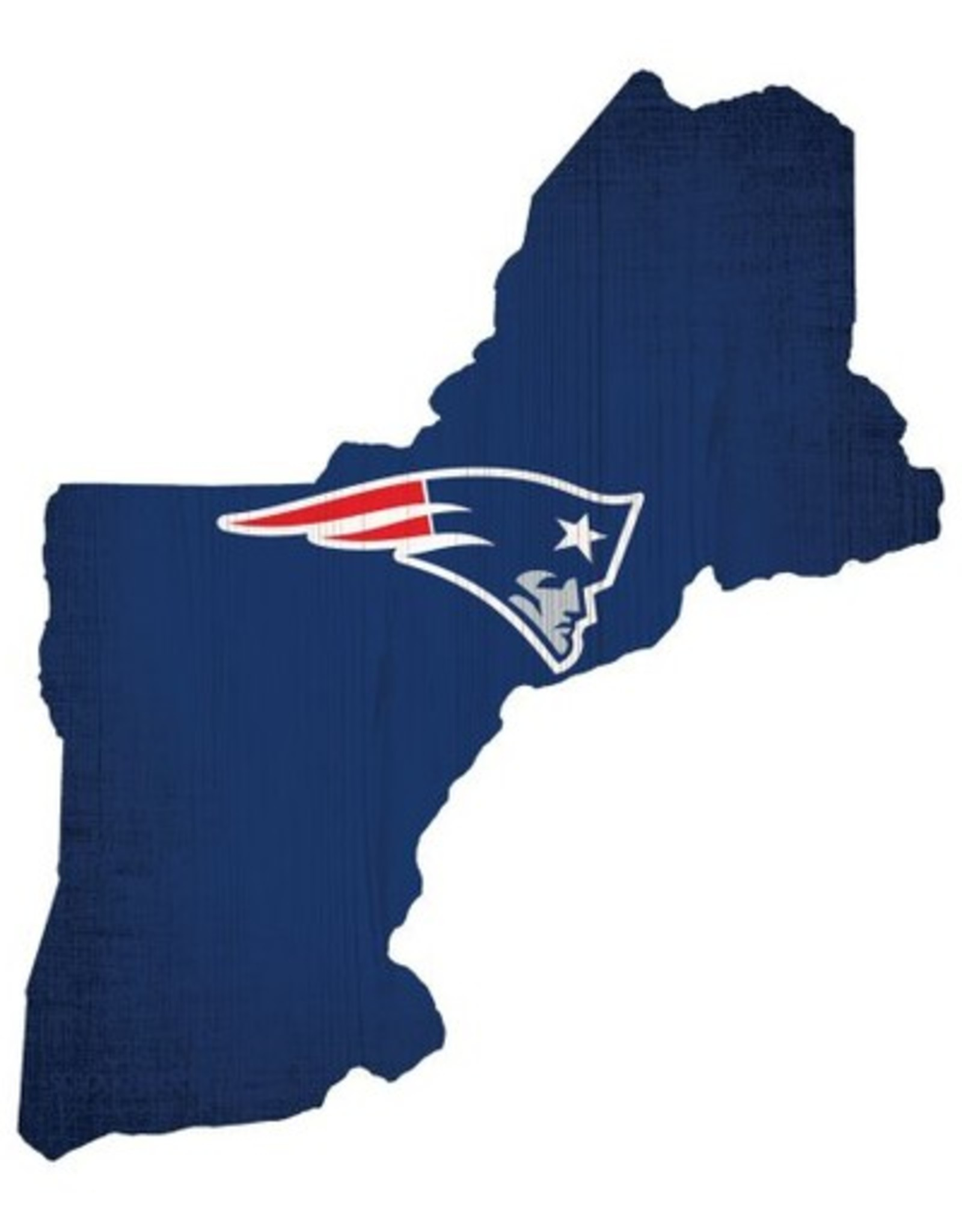 FAN CREATIONS New England Patriots Team Logo State Sign
