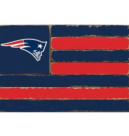 RUSTIC MARLIN New England Patriots Rustic Team Flag