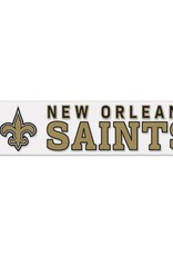"WINCRAFT New Orleans Saints 4""x17"" Perfect Cut Decals"