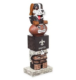 New Orleans Saints Tiki Totem