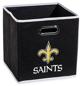New Orleans Saints Storage Bin