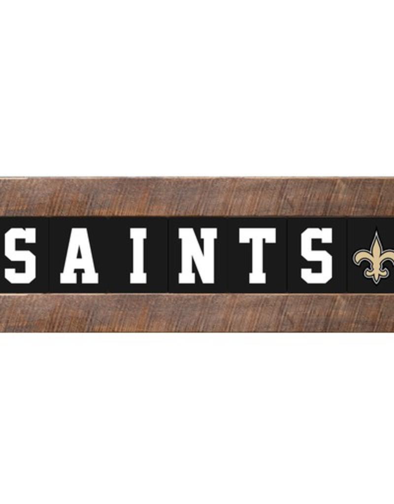 sale retailer 75113 4aada RUSTIC MARLIN New Orleans Saints Marlin Classic Wood Sign