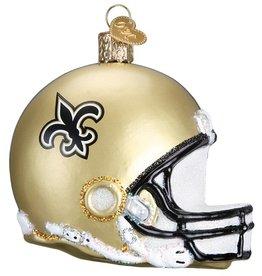 OLD WORLD CHRISTMAS New Orleans Saints Helmet Ornament