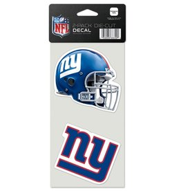 New York Giants Set of Two 4x4 Perfect Cut Decals