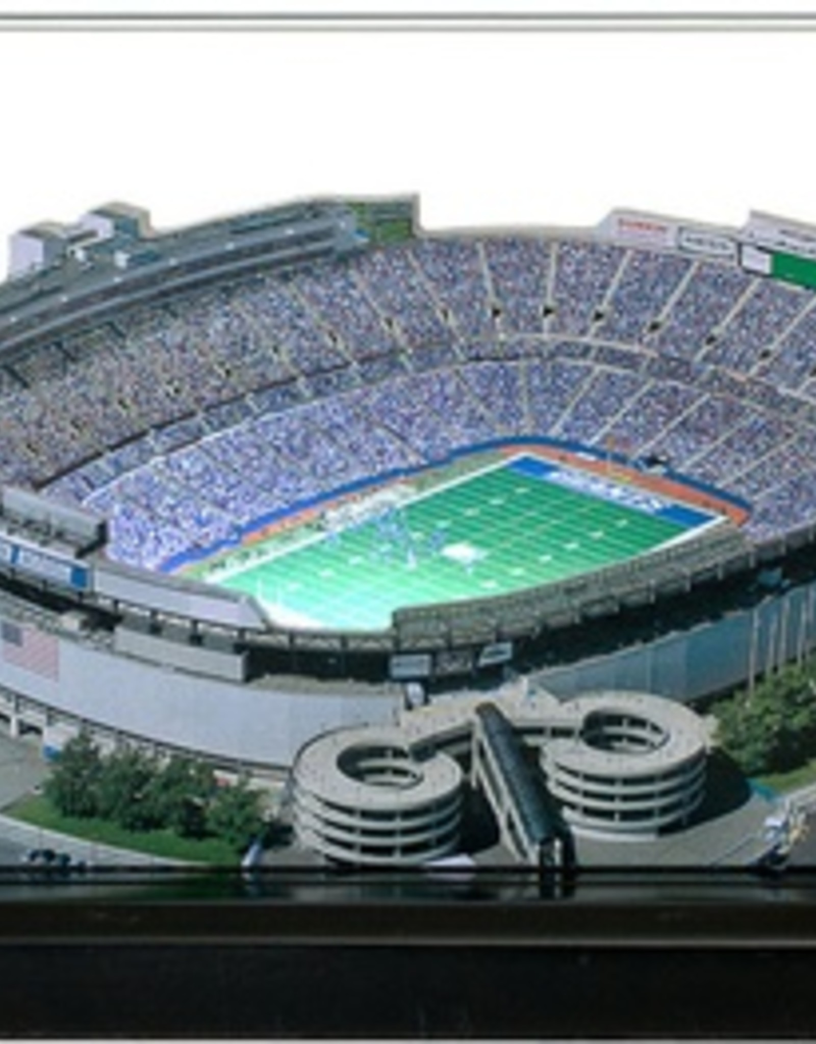 HOMEFIELDS New York Giants 13IN Lighted Replica Giants Stadium (1976-2009)