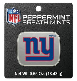 New York Giants Breath Mints Tin
