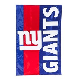 "EVERGREEN New York Giants 28"" x 44"" Striped House Flag"