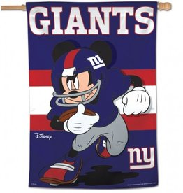 "WINCRAFT New York Giants Disney Mickey Mouse 28"" x 40"" House Flag"