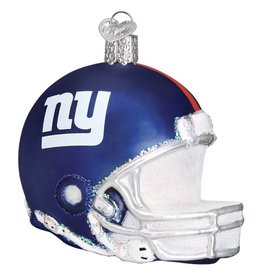 OLD WORLD CHRISTMAS New York Giants Helmet Ornament
