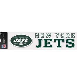 "WINCRAFT New York Jets 4""x17"" Perfect Cut Decals"