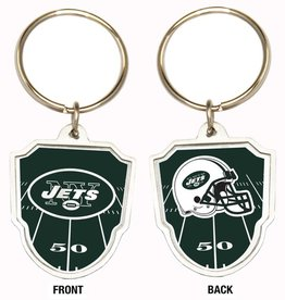 New York Jets Home Field Key Ring