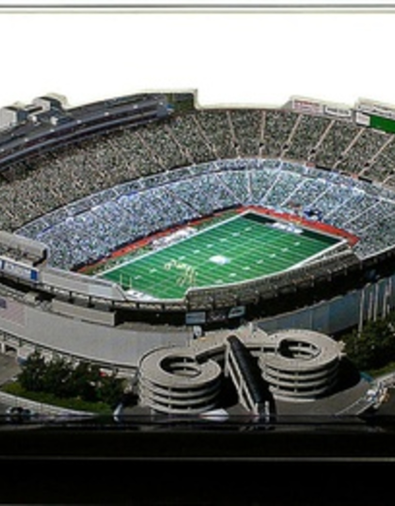 HOMEFIELDS New York Jets 9in Lighted Replica Giants Stadium (1984-2009)