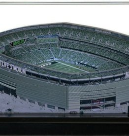 HOMEFIELDS New York Jets 19IN Lighted Replica Metlife Stadium