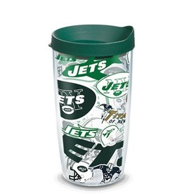 New York Jets 16oz Tervis All Over Print Tumbler
