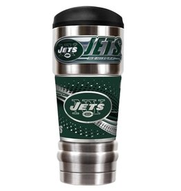 GREAT AMERICAN PRODUCTS New York Jets 18oz The MVP Stainless Tumbler