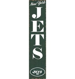RUSTIC MARLIN New York Jets Vertical Rustic Sign