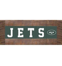 RUSTIC MARLIN New York Jets Marlin Classic Wood Sign