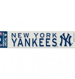 "WINCRAFT New York Yankees 4""x17"" Perfect Cut Decals"