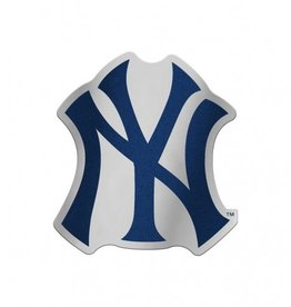 New York Yankees Laser Cut Auto Badge Decal