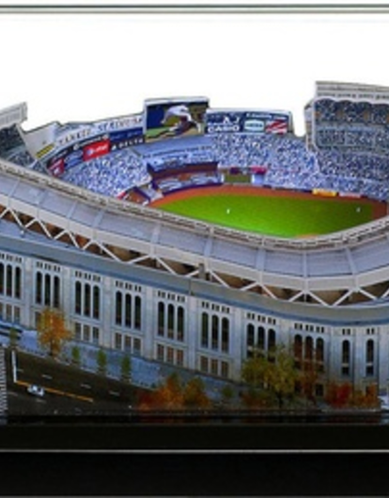 HOMEFIELDS New York Yankees 9in Lighted Replica Yankee Stadium
