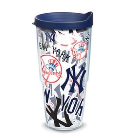 New York Yankees 24oz Tervis All Over Print Tumbler