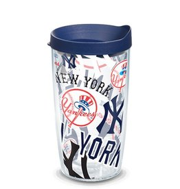 New York Yankees 16oz Tervis All Over Print Tumbler