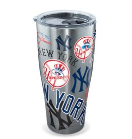 New York Yankees TERVIS 30oz Stainless Steel All Over Tumbler