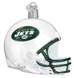 OLD WORLD CHRISTMAS New York Jets Helmet Ornament