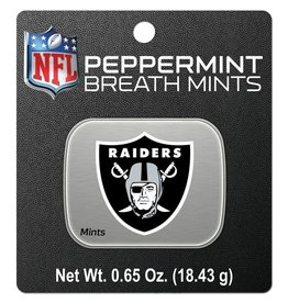 Oakland Raiders Breath Mints Tin