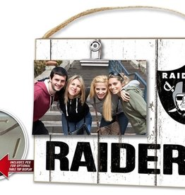 KINDRED HEARTS Oakland Raiders Clip It Photo Frame
