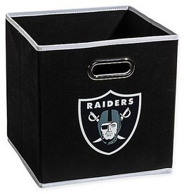Oakland Raiders Storage Bin