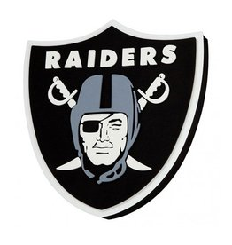 Oakland Raiders 3D Foam Logo Sign