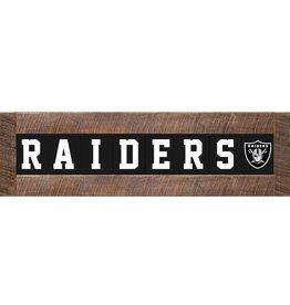 RUSTIC MARLIN Oakland Raiders Marlin Classic Wood Sign