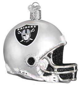 OLD WORLD CHRISTMAS Las Vegas Raiders Helmet Ornament
