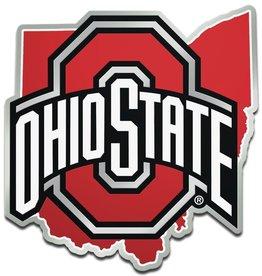 Ohio State Buckeyes State Auto Emblem