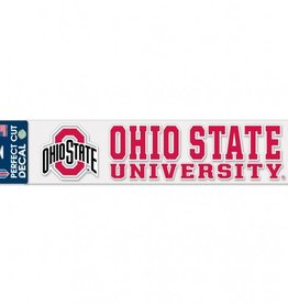 "WINCRAFT Ohio State Buckeyes 4""x17"" Perfect Cut Decals"