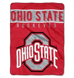 Ohio State Buckeyes 60inx80in Basic Royal Plush Raschel Throw