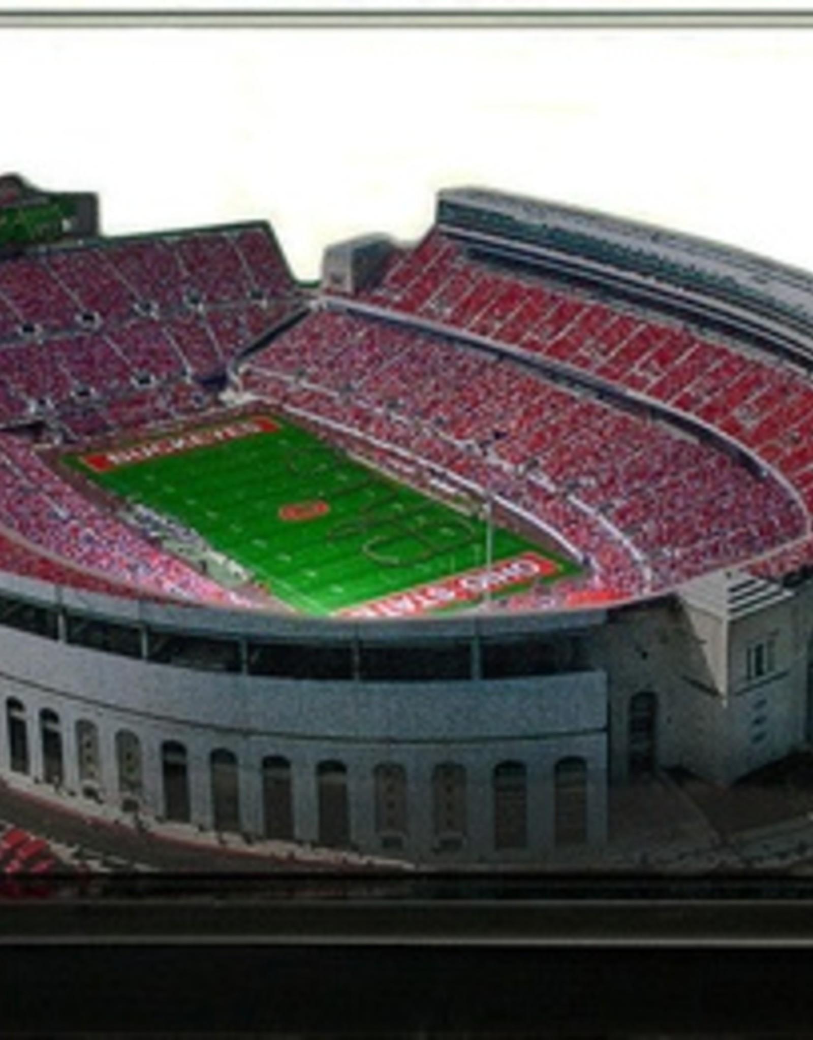 HOMEFIELDS Ohio State 9in Lighted Replica Ohio Stadium